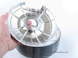 Durable Packaging Large Electric Disposable Foil Burner Bib #6200L 50 - $24.60