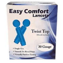 Easy Comfort Lancets 100ct - $2.99
