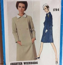Vogue Americana Sewing Pattern 1784 Chester Weinberg 16 Vtg 1967 One Pc ... - $50.00