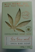 New Mesa Home Hemp Oil/Tea Tree Oil 10oz/283g Tea Tree Mint Shea Bath Ba... - $12.86