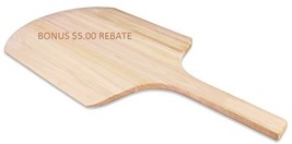 Wooden Pizza Peel Wood Paddle Style Spatula Restaurant Pizzeria Lifter $13 - $18.80