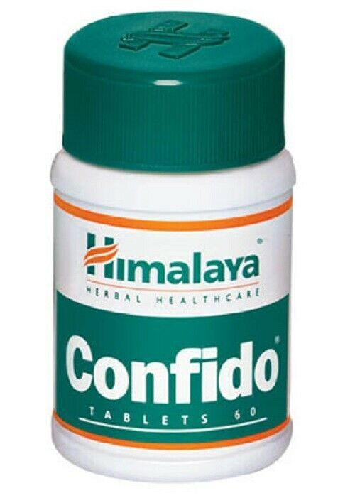 Primary image for 5 X 60 Tablets Himalaya Herbal Confido Tablet for Natural Care- 60 Tabs
