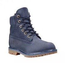 Timberland AF Icon 6 Inch Premium Womens Boots Lace Up Blue A13GY T5. Si... - $2.635,21 MXN