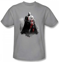 Authentique DC COMICS Batman Arkham City Jeu Vidéo Harley Et Raquettes T Shirt - $23.03+