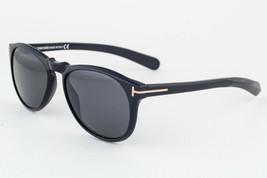 Tom Ford Flynn 9291 Asian Fit Shiny Black / Gray Gradient Sunglasses TF9... - $224.42