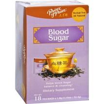 PRINCE OF PEACE Blood Sugar Herbal Tea 18 Bag, 0.02 Pound - $8.37