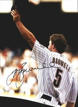 Jeff Bagwell authentic signed baseball 11X14 photo W/Cert Autographed A0005 - $109.95