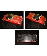 Jaguar XK150 Tin Toy Car Made In Japan Vintage - $64.99