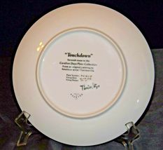 """""""Touchdown"""" Carefree Days Plate Collection by  Thornton Utz AA20-CP2323 Vintage image 3"""