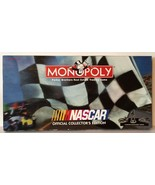 Monopoly NASCAR Official Collector's Edition 1997 Board Game - 98% Complete - $10.94
