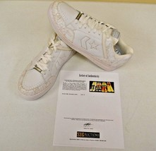 Converse Weapon White Basketball sz 14 DWAYNE WADE Personal Owned Shoes COA #8 - $148.49