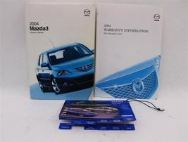 Owners Manual Mazda 3 2004 04 874646 - $44.43