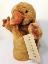 Manhattan Toy Platypus Plush RARE Hand PUPPET Duck Billed Stuffed Animal... - $75.00