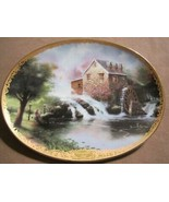LAMPLIGHT MILL collector plate THOMAS KINKADE Lamplight Village - $19.99