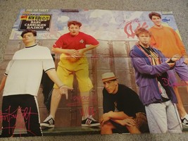 New Kids on the Block David Hasselhoff teen magazine poster clipping Colors - $4.00