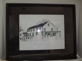 Gray,s Country Store Ink Drawing - $18.49