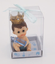 6 pcs Baby Shower Favors Party Centerpiece Its A Baby Boy Keepsake Gifts - $19.75