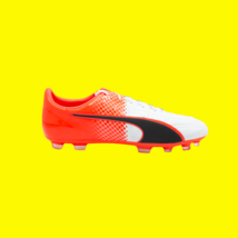 Puma Evo Speed 1.5 Lth Ag Men's Puma Black Soccer Cleats Size 12 New - $55.43