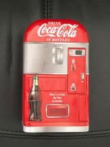 Coca Cola (Coke) Bottle Vending Machine Tin Box - Red - Collectible - $9.89