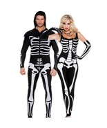 Halloween Adult cosplay costume couple game play clothing tights Ghost F... - $42.29+
