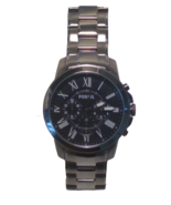 Fossil Men's FS4831 Grant Chronograph Smoke-Tone Stainless Steel Watch - $79.15