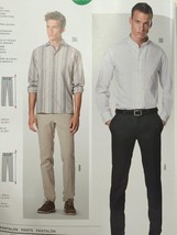 Burda Sewing Pattern 6933 Mens Pants Size 34-44 New - $14.77