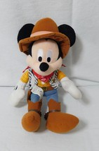 Disney Pixar Toy Story Mickey Mouse Sheriff Woody Stuffed Toy