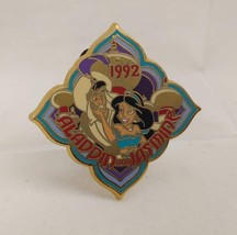 Aladdin & Jasmine 12 Months of Magic 1992 Disney Store Pin 9045 - $12.61