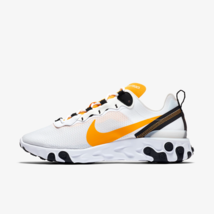 Nike React Element 55 - Mens Trainers White / Yellow / Gold Shoes CI3831... - $170.98+