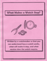 Why Your Watch Has Stopped - CD - Book - - $2.99