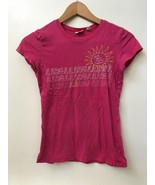 American Eagle Outfitters Womens Size XS T-shirt Pink Cap Sleeve AEO Sun - $14.95