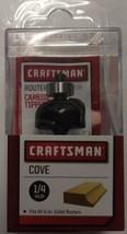 "Craftsman 99720 1/4"" Cove Router Bit 1/4"" Shank - $6.44"