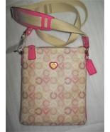 NWT COACH 48990 Waverley Boxed Heart Sign Swingpack Crossbody Bag RARE - $79.99
