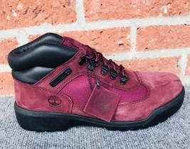 Details about Timberland Made In USA 8 Inch Waterproof Boot. Burgundy TBOA1jxm. Size 11