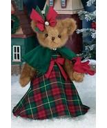 "Bearington Bears ""CORINNE & CARDINAL"" 14"" Plush Bear- #173222 - NWT- 2014 - $49.99"