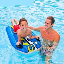 Inflatable Floating Mat Adult Children Pool Float Mat Surfboard Water Sa... - $36.72