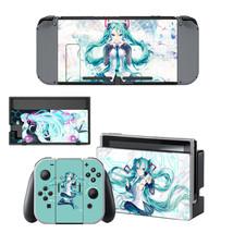 Hatsune Miku Anime   Nintendo Switch Skin for Nintendo Switch Console  - $19.00