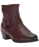 Womens Propet Tory Ankle Boots - Rich Burgundy Leather Size 6(2E) [WFX005L] - $64.99
