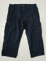 5.11 Tactical Mens Sz 50 Taclite EMS Pants Navy Blue Cargo Work Uniform - $29.99