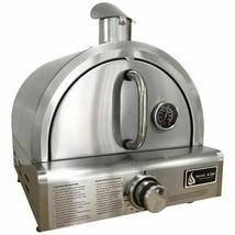 Portable Pizza Oven Gas Propane Burner Stone Camping Cooker Patio Floor ... - $428.44