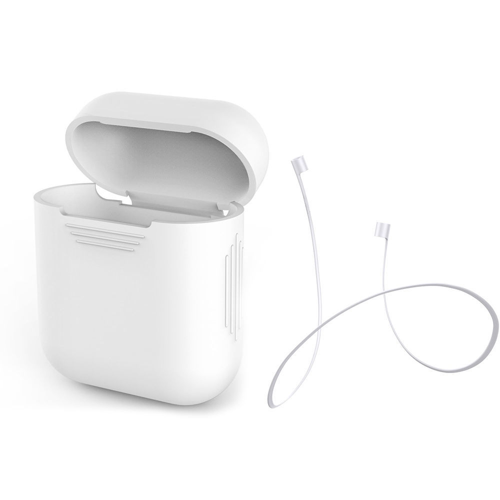 Primary image for Case Cover for Apple AirPods + AirPod Strap Silicone Protective Charging USA