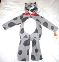 Carter's 2pc Fleece Puppy Dog Spot Costume Dress up Carnival Halloween 6... - $15.02