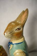 Vaillancourt Folk Art Collectors Weekend Rabbit paintiong sample signed by Judi! image 5