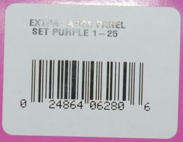 Destron Fearing DuFlex Visual Id Panel Tags for Livestock XL 25 Sets Purple 1-25 image 7