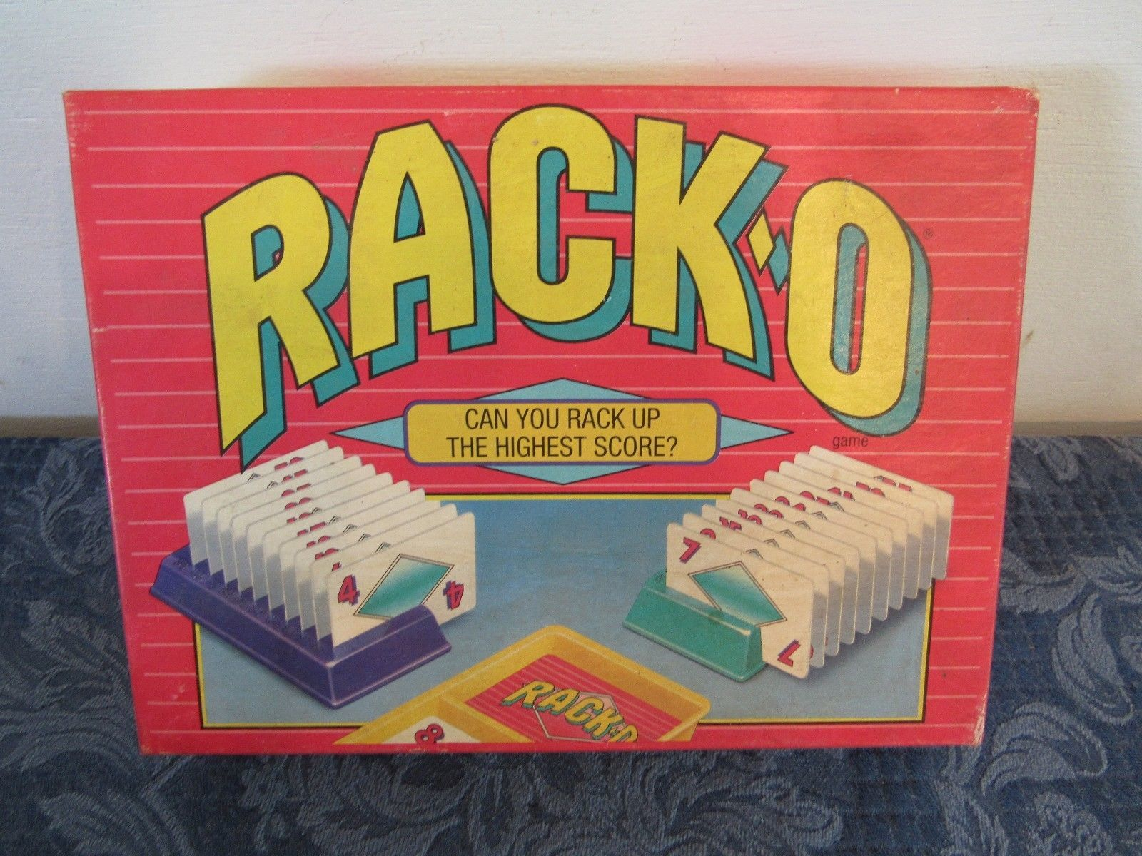 Primary image for Rack-O Card Game Parker Brothers 1992 No. 40073 Complete