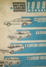 1989 Chevy Caprice Wagon Sedan Safari Lesabre Wagon Olds Cruiser Service... - $11.90