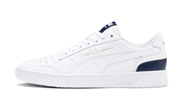 Puma Men's Ralph Sampson Lo Sneakers White Peacot Navy Casual Shoes 3708... - $69.00