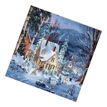 Dimensions Gold Collection Counted Cross Stitch 'Winter'S Hush', 16 Coun... - $51.99
