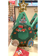 Disney Parks Castle Musical Christmas Tree Wooden Figurine NEW - $54.90