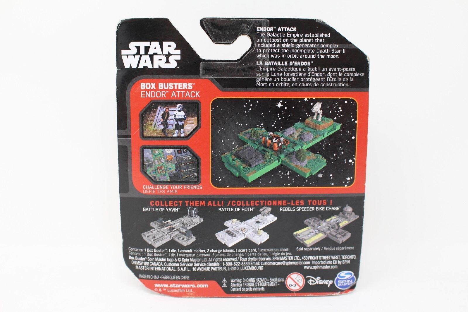 Battle of Hoth And Battle Of Yavin NIB Lot Of 2 Star Wars Disney Box Busters